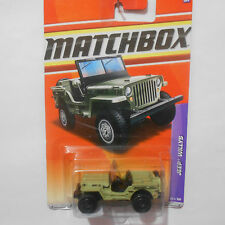 MATCHBOX *JEEP WILLYS* 65/100 1:64 FERMAR4020