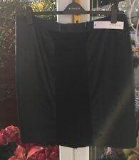 Trendy ROMAN ORIGINALS Black Faux Leather Panel Skirt Size 18 *BNWT*