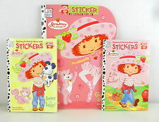 STRAWBERRY SHORTCAKE Glad to be Me Coloring Book with 2 Sticker/Activity Books
