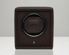 WOLF 455206 Brown 1.8 Cub Watch Winder with Lock-In Cuff