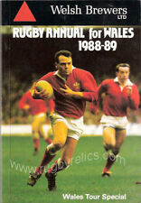 WELSH BREWERS RUGBY ANNUAL FOR WALES 1988-89 BOOK
