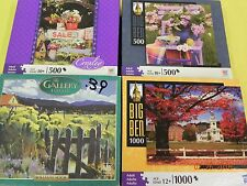 Lot of Jigsaw Puzzles Croxley, Big Ben, Gallery, Hallmark, 500 - 1000 pcs