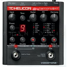 TC-Helicon VoiceTone Harmony G-XT Voice Tone GXT Live Vocal/Guitar Multi-Effects