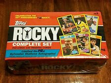 2016 Topps Rocky Complete Set 330 Card - 40th Anniversary Random Autos! SEALED!