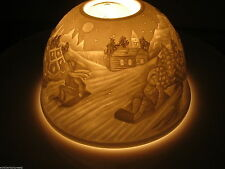 MAGIC LIGHT, TEELICHT DOME LIGHTS  STARLIGHT WINDLICHT SCHLITTEN KINDER 2189 C
