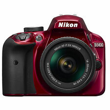 Nikon D3400 AF-P 18-55mm VR Kit (Red) *NEW* *IN STOCK* *NIKON USA WARRANTY*
