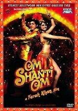OM SHANTI OM BOLLYWOOD DVD - SHAH RUKH KHAN - FREE POST