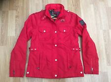LADIES LE BREVE FASHION JACKET STYLE RAVEN RED SIZE S = SIZE 10