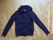 NWT New Women Old Navy Double-Breasted Cardigan Sweater Purple Size XS