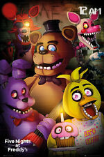 FIVE NIGHTS AT FREDDY'S  Poster - GROUP  - 5 nights at Freddy's poster FP4345