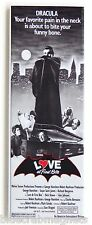 Love at First Bite FRIDGE MAGNET (1.5 x 4.5 inches) insert movie poster vampire