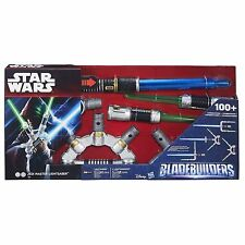 STAR WARS BLADEBUILDERS JEDI MASTER LIGHTSABER BRAND NEW IN BOX LIGHTS & SOUNDS