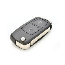 2 Button Folding Car Remote Flip Key Shell Cover For VW GOLF MK4 BORA Uncut