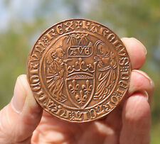 French contemporary medal, Henry VI of France & England, salut d'or, 136/500