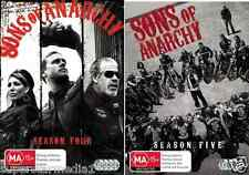 Sons Of Anarchy COMPLETE Seasons 4 & 5 : NEW DVD