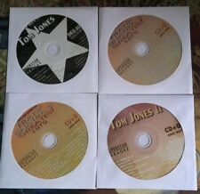 4 CDG LOT 1950'S-1970'S OLDIES KARAOKE HITS OF FRANK SINATRA & TOM JONES CD+G