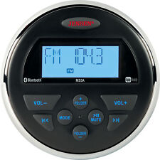 Jensen AM FM USB APP Waterproof Marine BLUETOOTH Compact Radio Stereo MS3ARTL