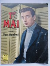 Collection VIE HEUREUSE N° 11 Yves MONTAND Maurice BIRAUD Alice SAPRITCH