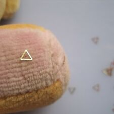100pcs Cute MS-237-2 Gold Triangle Nail Art Metal Sticker Nail Art Deco