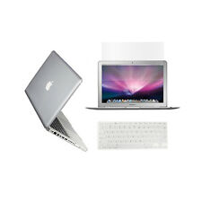 "3 in 1  Crystal CLEAR Case for Macbook PRO 13"" + Keyboard Cover + LCD Screen"