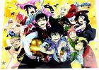 Ao no Exorcist Blue Clear File Japan anime official promo