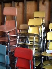 132 Vtg Heywood Wakefield Hey Woodite Student School Size Chairs -Very Good