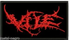 VILE EMBROIDERED PATCH DEATH VOMITORY CANNIBAL CORPSE SUFFOCATION Metal Negro