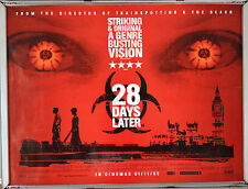 Cinema Poster: 28 DAYS LATER 2002 (Main Quad) Cillian Murphy Danny Boyle