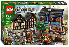LEGO Castle Medieval Market Village 10193 NEW SEALED SHIPS FREE