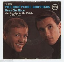 The Righteous Brothers 1967 Verve 45rpm Picture Sleeve (ONLY) Been So Nice