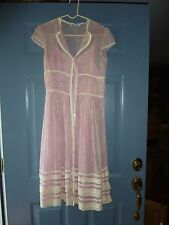Kay Unger New York Size 4 Pink/Ivory Floral Dress