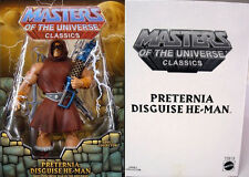 MOTU Classics PRETERNIA DISGUISE HE-MAN New Club Eternia Exclusive Figure w/MAP