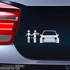 (365) Fun Sticker Aufkleber / Real Love  VW Golf 2 GTI G60