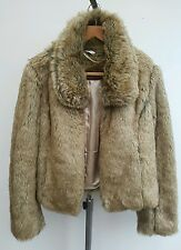 women's winter jacket thick warm faux fur uk 16 New Look