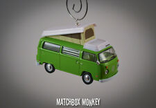 1:64 Volkswagen Samba Bus Camper Kombi VW T2 Christmas Ornament Westfalia RV T1