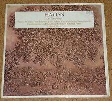 LP DLP Haydn Schöpfung Werner Schreier Adam Koch Eterna Edition 8 26 746 - 747