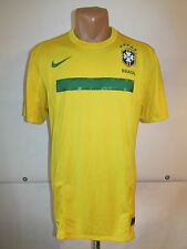 BRAZIL 2011/2012 HOME FOOTBALL SHIRT CAMISETA JERSEY NIKE (M) NEYMAR LUIZ ERA