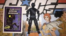 Snake Eyes Vintage 1985 GI Joe Nr Complete Lot W/Case, Card, & Accessories A
