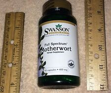 Motherwort, from Swanson      60 capsules, 400 mg each