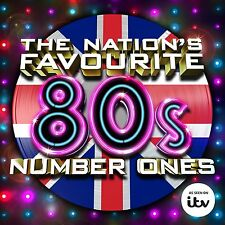 THE NATION'S FAVOURITE 80'S NUMBER ONES: 3CD ALBUM SET (July 24th 2015)