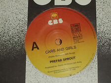 "PREFAB SPROUT *RARE 7"" 45 ' CARS AND GIRLS ' 1988 VGC+"
