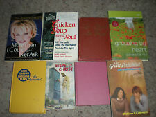 Lot of 30+ Christian books, Joyce Meyers, Donna Partow, Chicken Soup,  Vintage