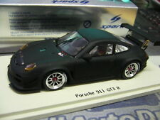 PORSCHE 911 997 GT3-R R matt schwarz black Presentation limit 1/300 Spark 1:43