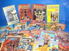 Lote de comics LOS CUATRO FANTASTICOS-22 numeros + TOMO