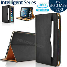For Apple iPad Mini 1/2/3 Leather Case Smart Cover Wallet Flip Stand Case Pocket