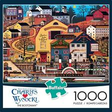 BUFFALO GAMES PUZZLE THE BOSTONIAN CHARLES WYSOCKI 1000 PCS #11442