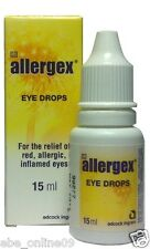 1 Bottle of Allergex Oxymetazoline HCI (Similar to Visine LR Long Lasting)