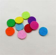 (20 Pack) Mix Aromatherapy Essential Oil Perfume Diffuser Locket 18mm Refill Pad