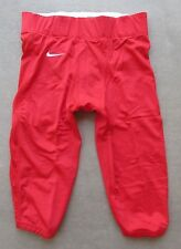 NIKE TEAM VELOCITY RED FOOTBALL PANTS ADULT SIZE 3XLARGE STYLE 535705 MSRP $65