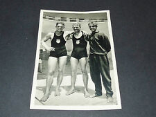 LOS ANGELES 1932 J.O. OLYMPIC GAMES OLYMPIA PLONGEON USA GALITZEN SMITH DEGENER